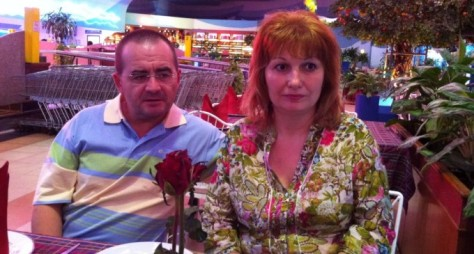 Dragoș Lipan-Secu, former managing director of Scolopax, with his wife Mariana . Image via http://www.voceatransilvaniei.ro/