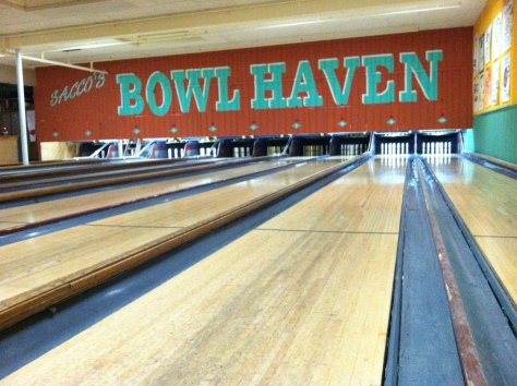 Bowling at Sacco's with RI